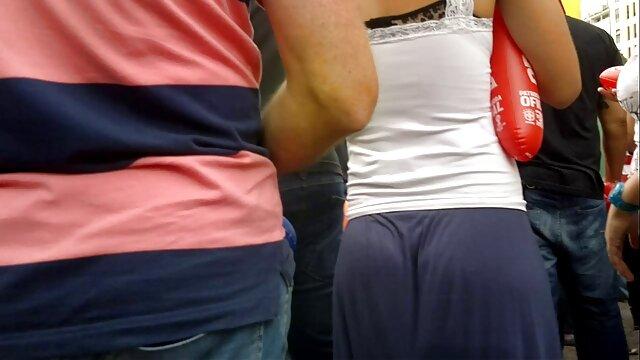 نونوجوان سکسی fucks در سکس با خواهر زن دیک هیولا!